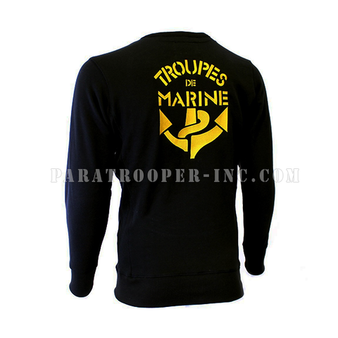 "Sweat Shirt ""Troupes de Marine"""