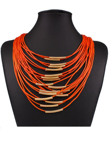 Bohemia Multilayer Chain Necklace