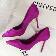 Simple Fashion High-Heeled Shallow Pointed Wedding Party Shoes