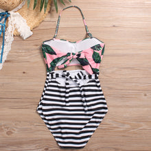 Sexy Printed One-Piece Swimwear