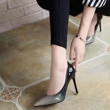 Gradient Pointed High-Heeled Elegant Shoes