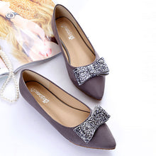 Fashion Pure Color Flat Pointed Mueller Shoes