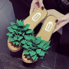 Casual Flower Decoration Sandals