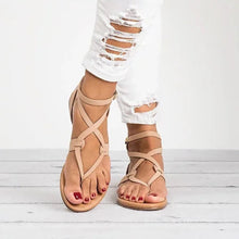 Large Size Adjustable Buckle Flat PU  Sandals Shoes