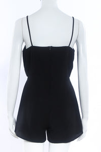 Strap V-Neck Sexy Loose Playsuit