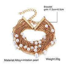 Fashion Personality Multilayer Pearl Bracelet