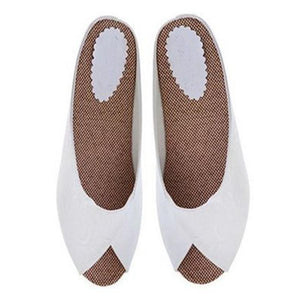 Plain  Flat  Peep Toe  Casual Outdoor Slippers