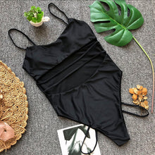 2018 Sexy Pure Color Bandage One-Piece