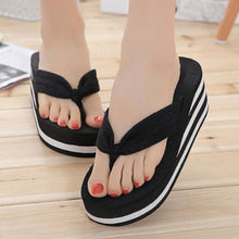 Plain  High Heeled  Cotton  Peep Toe  Casual Slippers