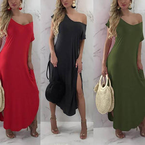 Fashion Mosaic Multicolor Maxi Dress