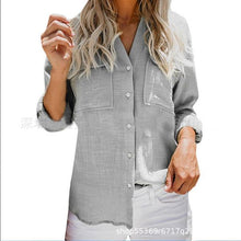 Casual Solid Color Long Sleeve Shirts