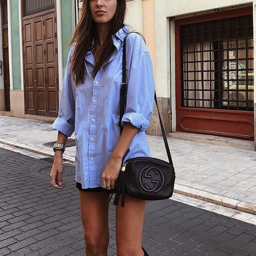 Loose Mid-Length Shirt