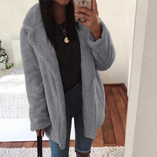Loose Warm Long Sleeve Cardigan