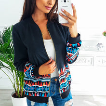 Fashion Loose Printed Jacket