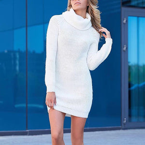 Autumn And Winter Knitted   Turtleneck Sweater