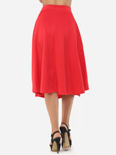 Plain Exquisite Midi-Skirt