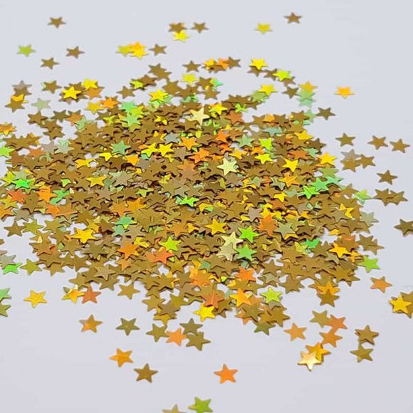 Golden Nugget - 3mm Stars