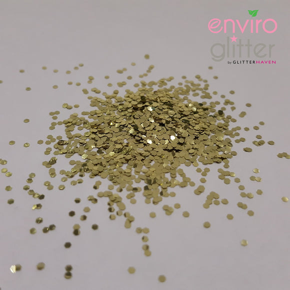 Enviro Glitter - Sweet Honeycomb - 1mm