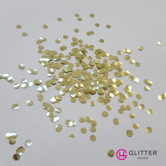 Enviro Glitter - Sweet Honeycomb - 2.4mm