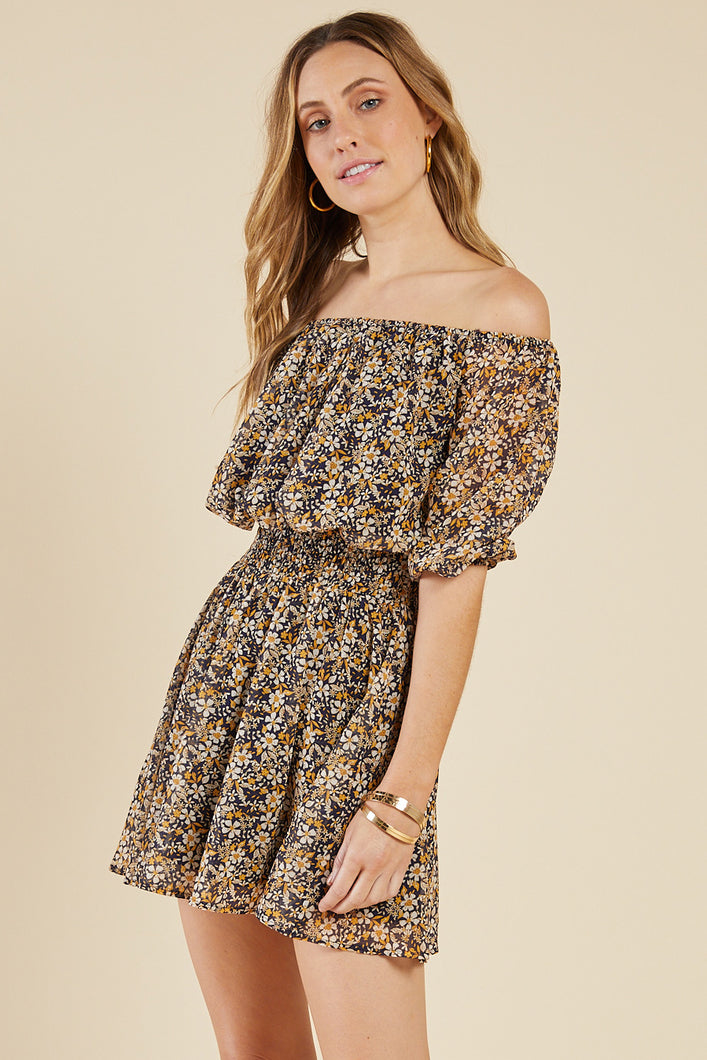 Daisy Low Off Shoulder Dress