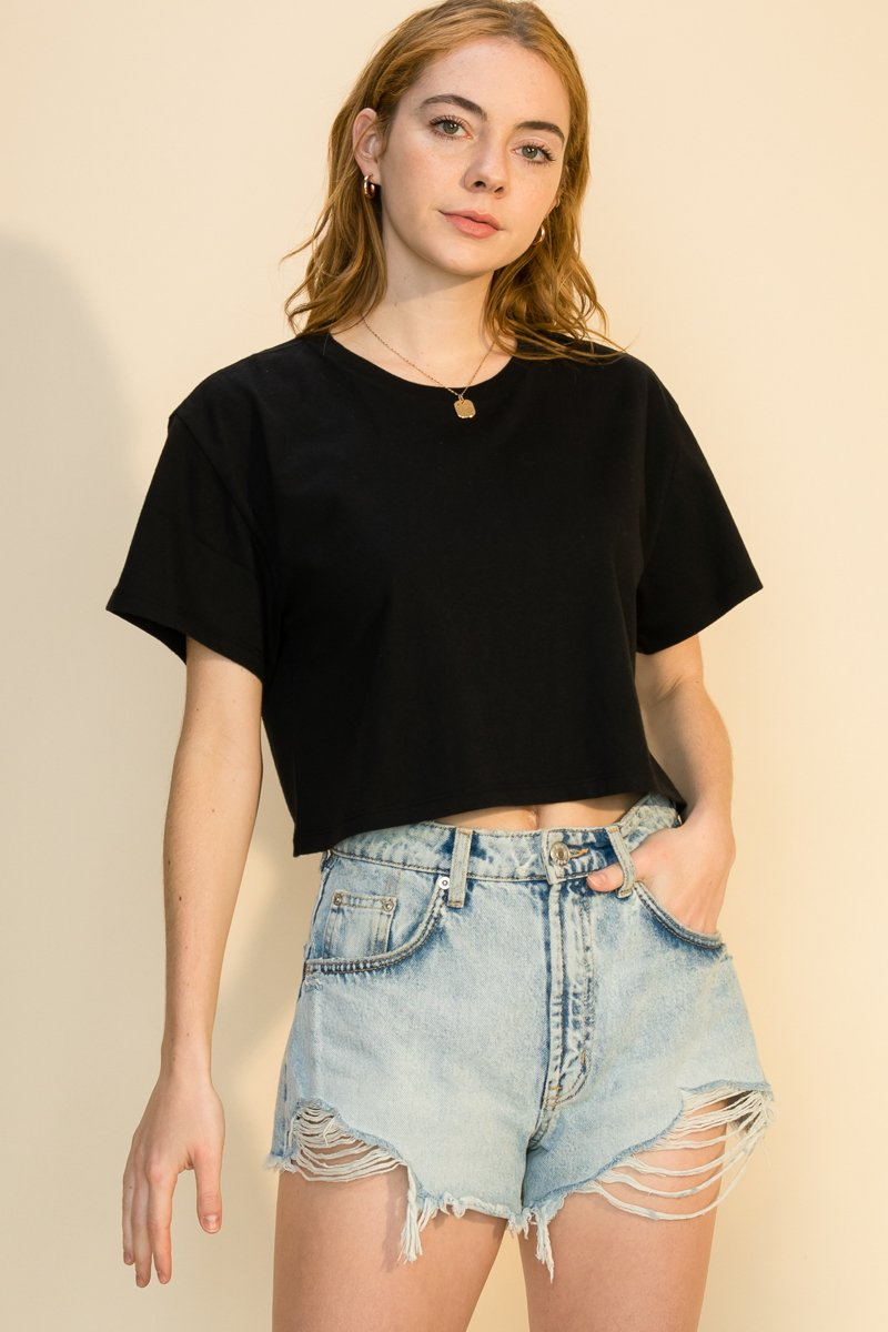 Weekend Tee Black