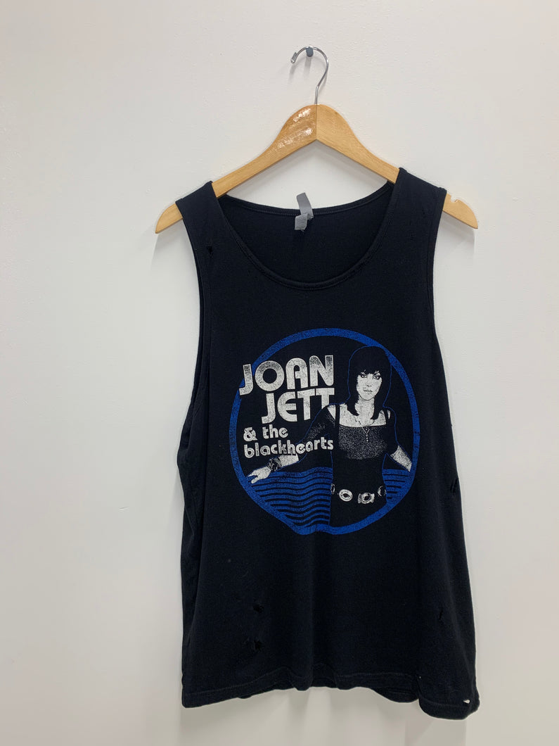 Distressed Joan Jett Tank