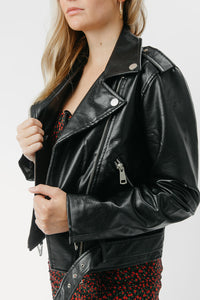 City Nights Leather Jacket