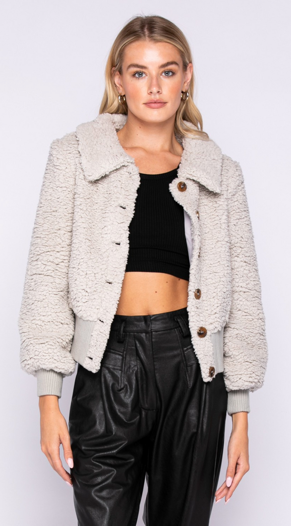 City Girl Crop Jacket