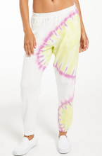 Load image into Gallery viewer, Sunburst Tie Dye Jogger