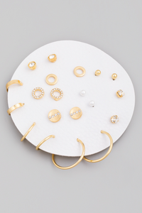 Endless Options Earring Set Circle