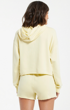 Load image into Gallery viewer, Gia Washed Hoodie Key Lime