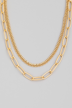 Load image into Gallery viewer, Sorted Out Layered Necklace