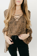Load image into Gallery viewer, Wild Thoughts Leopard Top