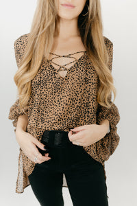 Wild Thoughts Leopard Top