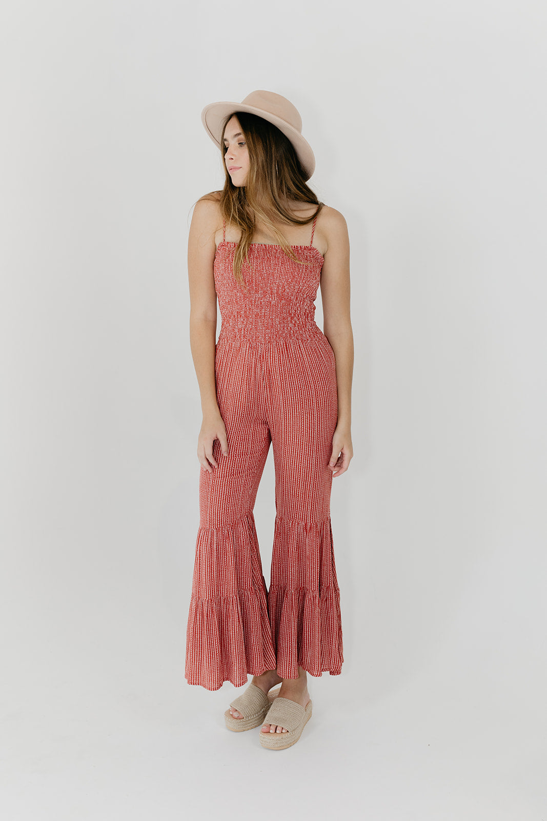 Ruffled Feathers Jumpsuit