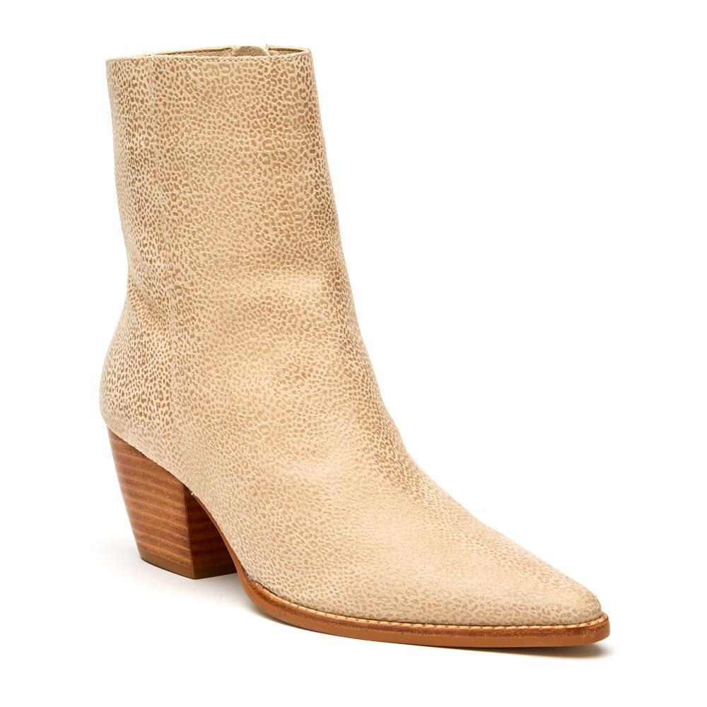 The Caty Boot Ivory Leopard