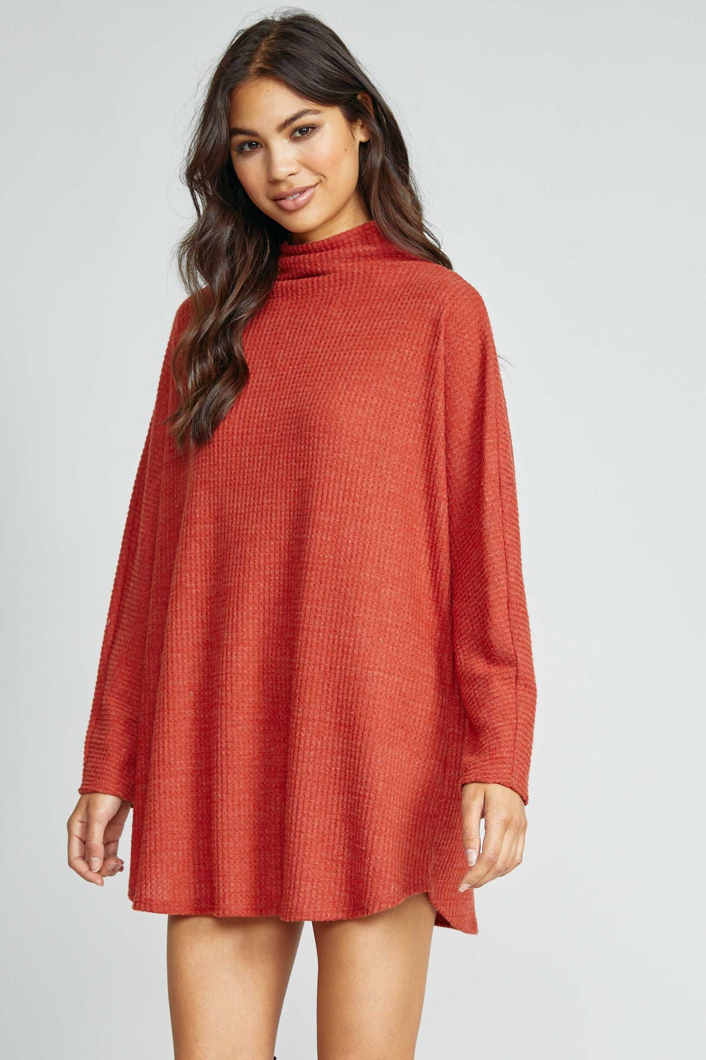 Homeward Waffle Knit Top