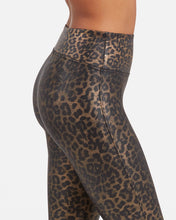 Load image into Gallery viewer, Spanx Metallic Leopard Legging