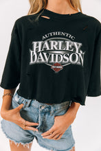 Load image into Gallery viewer, Cartersville Harley Davidson Crop Tee