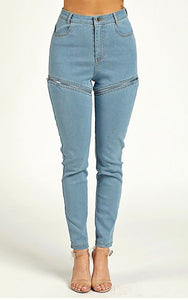 Zipped Jeans
