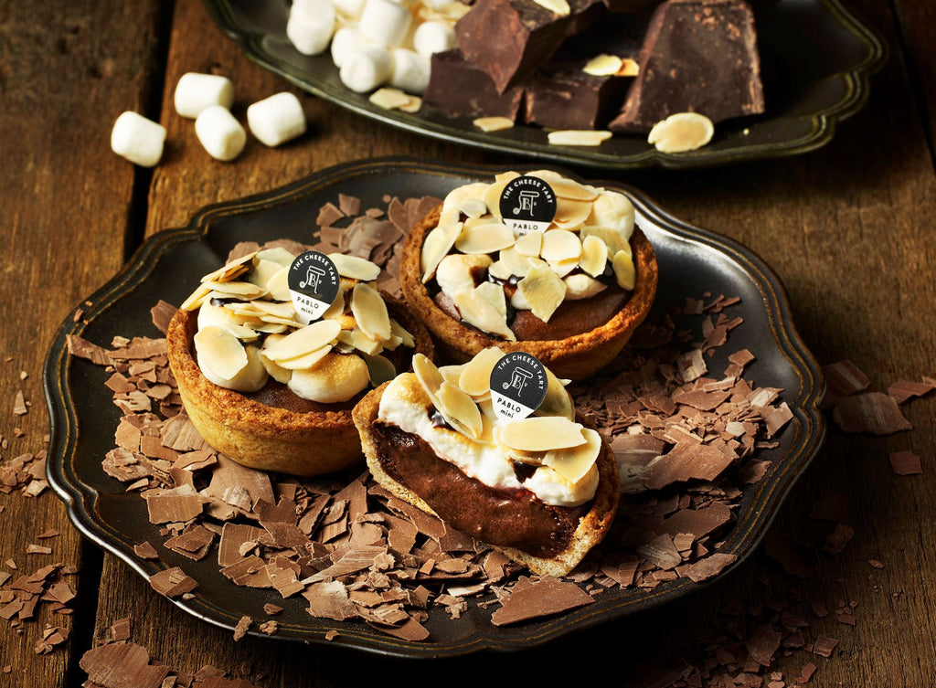 Pablo mini-Roasted Marshmallow Almond Chocolate - Pablo Cheese Tart