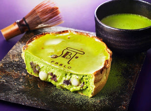 Matcha Cheesetart - Pablo Cheese Tart