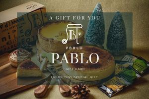 Gift card - Pablo Cheese Tart