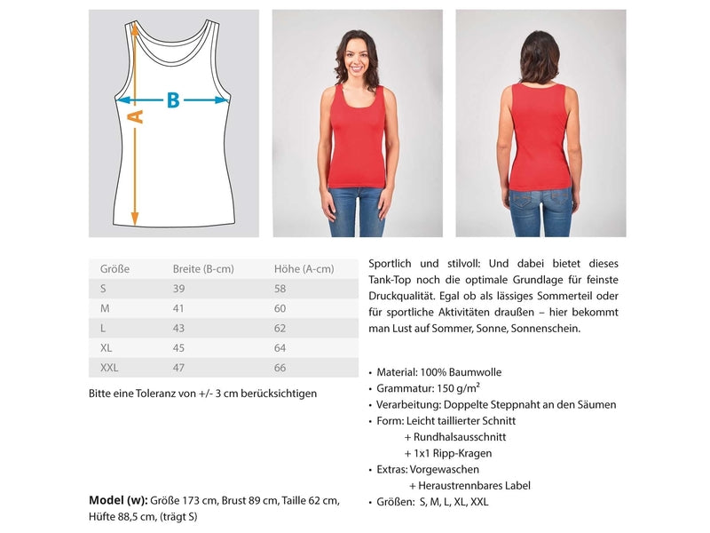Frauen Tank Top