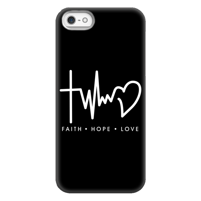 Faith Love Hope - Handyhülle