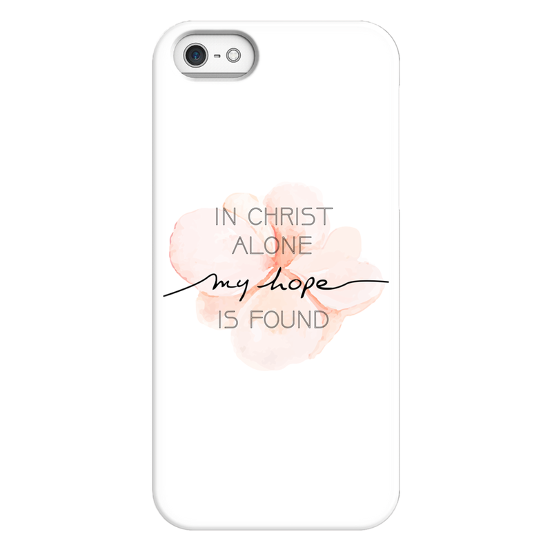 In Christ Alone My Hope Is Found - Handyhülle