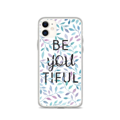 Be YOU tiful iPhone Hülle - gesegnet