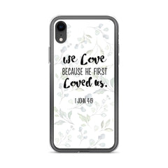 He loved us first iPhone Case