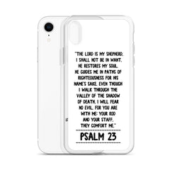 The Lord is my Shepherd Psalm 23 iPhone Hülle
