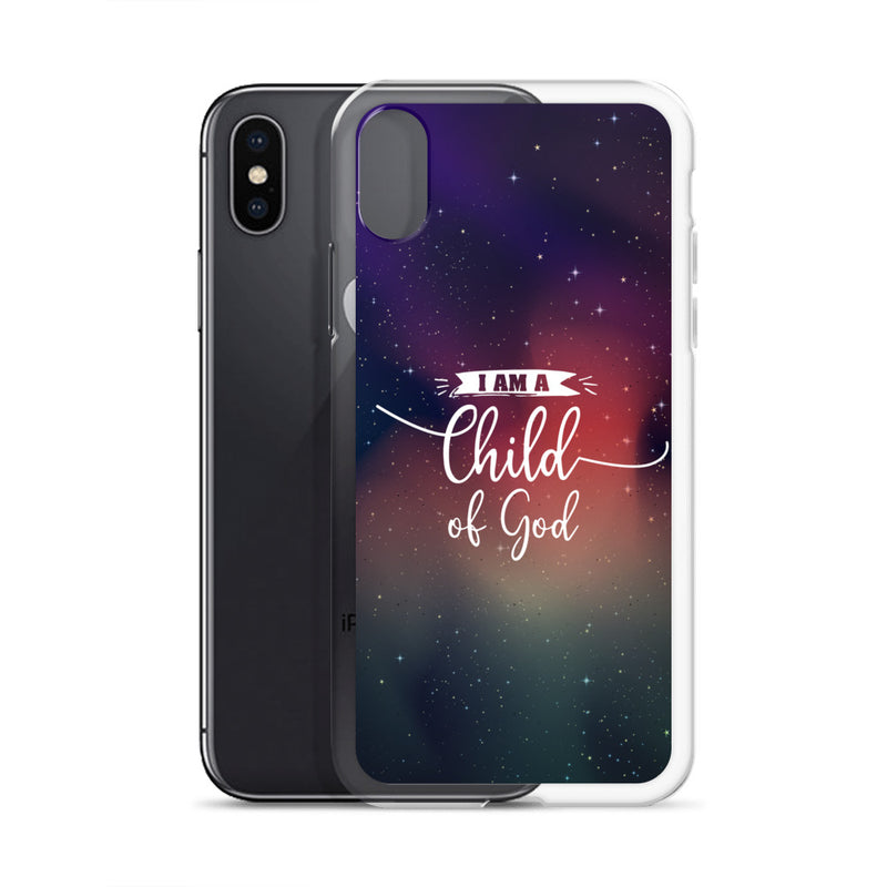 I am a Child of God Universe Design iPhone Hülle